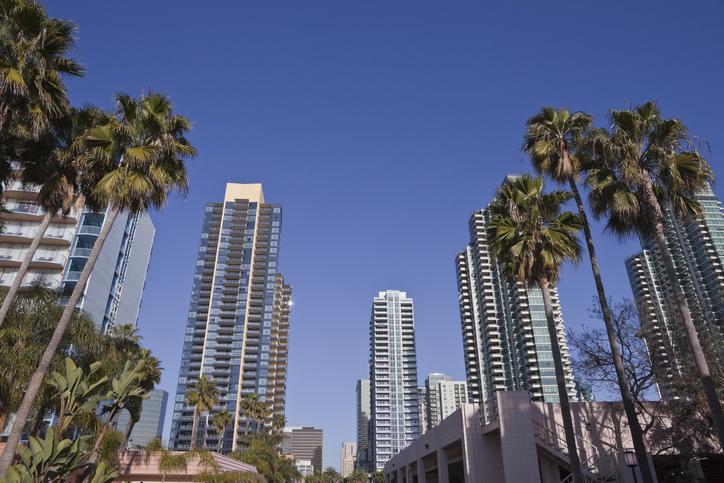 High-rise buildings in San Diego